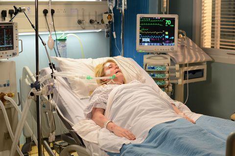 Room, Hospital, Patient, Medical equipment, Service, Comfort, Health care, Medical procedure, Medical, Hospital bed,