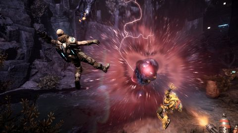 Evolve's day-one patch reduces load times