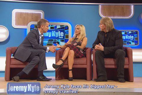 Jeremy Kyle cured of creepy crawly phobia
