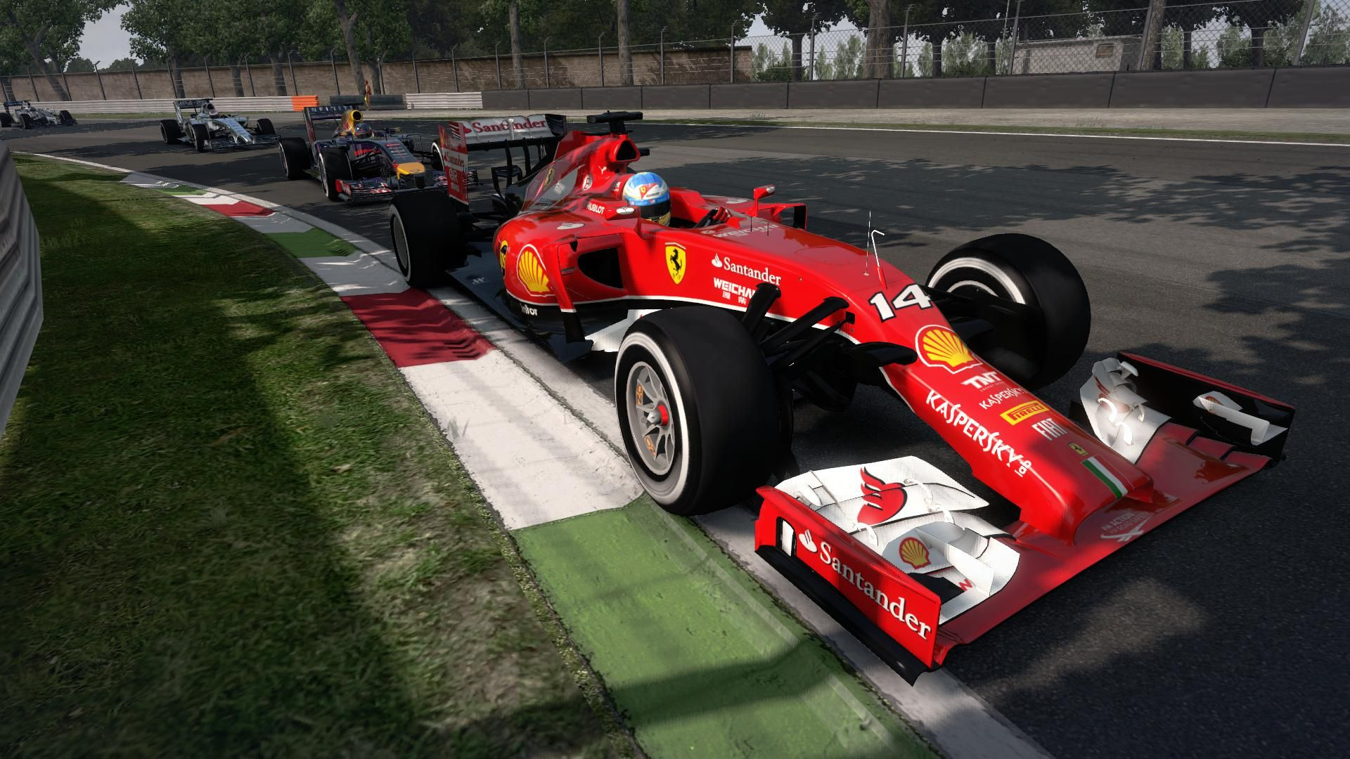 F1 2014 trailer game