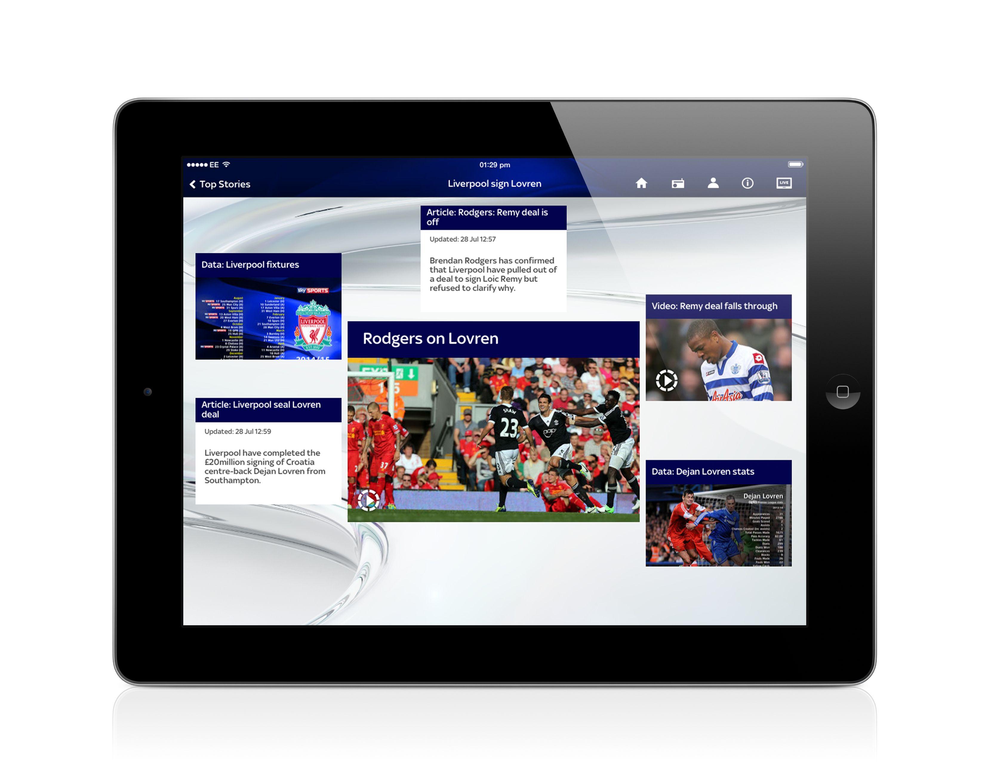 Sky Sports revamps website, mobile apps