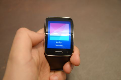 Samsung Gear S hands-on