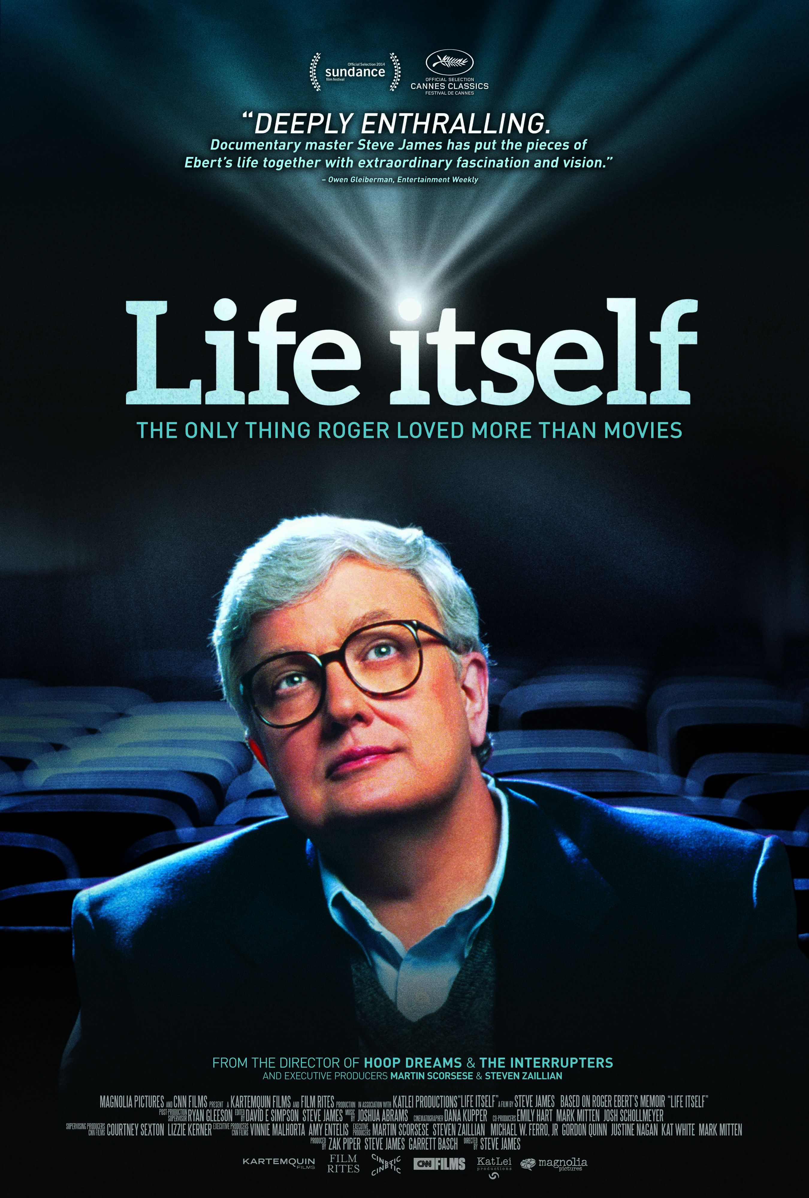 Roger Eberts Powerful Deeply Moving >> Life Itself Review