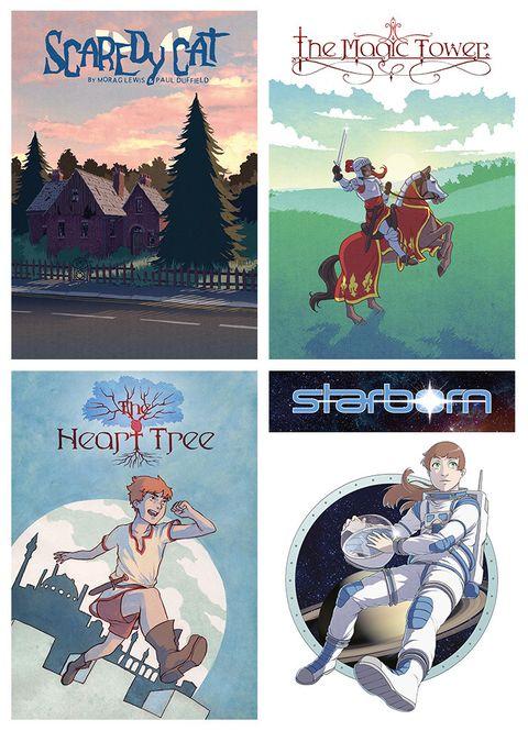 Paul Duffield Kickstarting fairy tale book