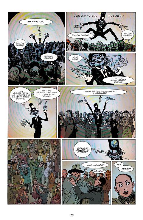Titan previews Chimera Brigade Vol 2