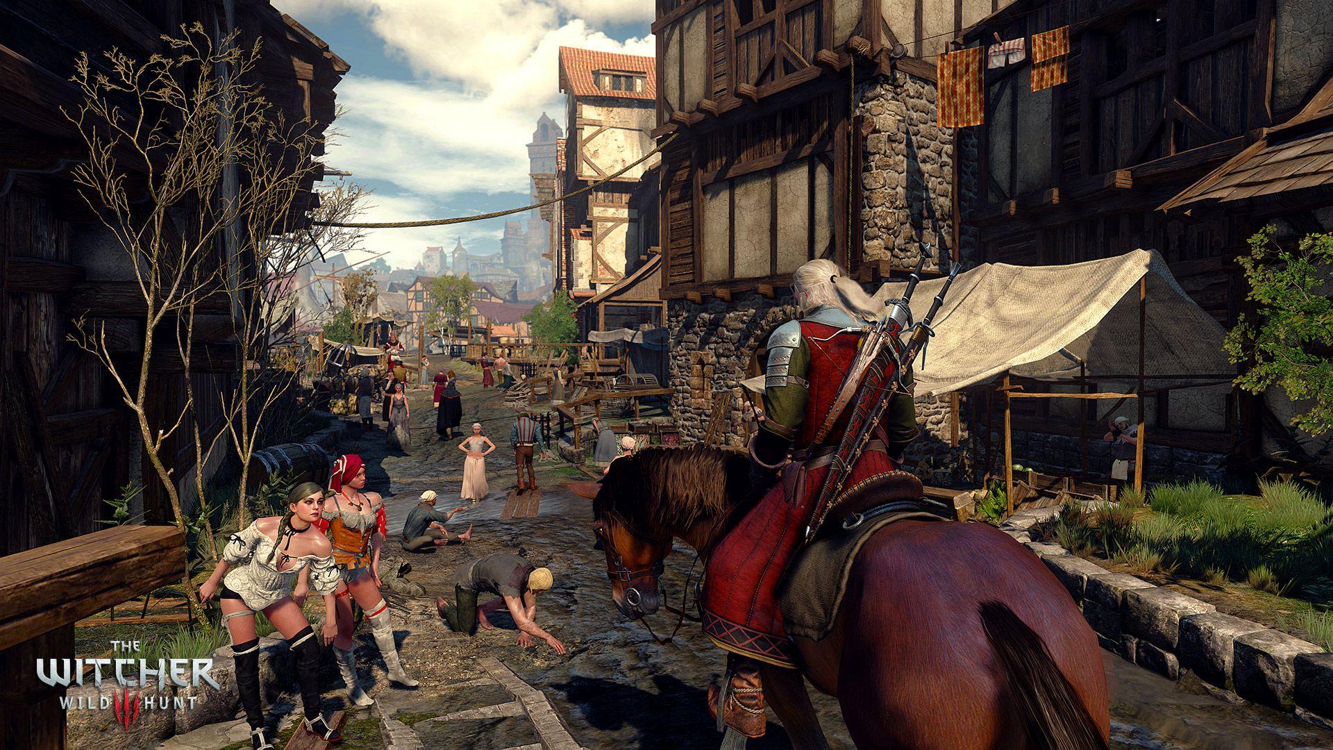 gaming the witchers 3 screenshot 07 - The Witcher: uno sguardo al mondo di Geralt, oltre la serie Netflix