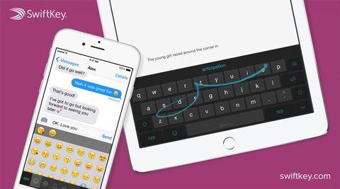 SwiftKey Keyboard update rolls out to iOS
