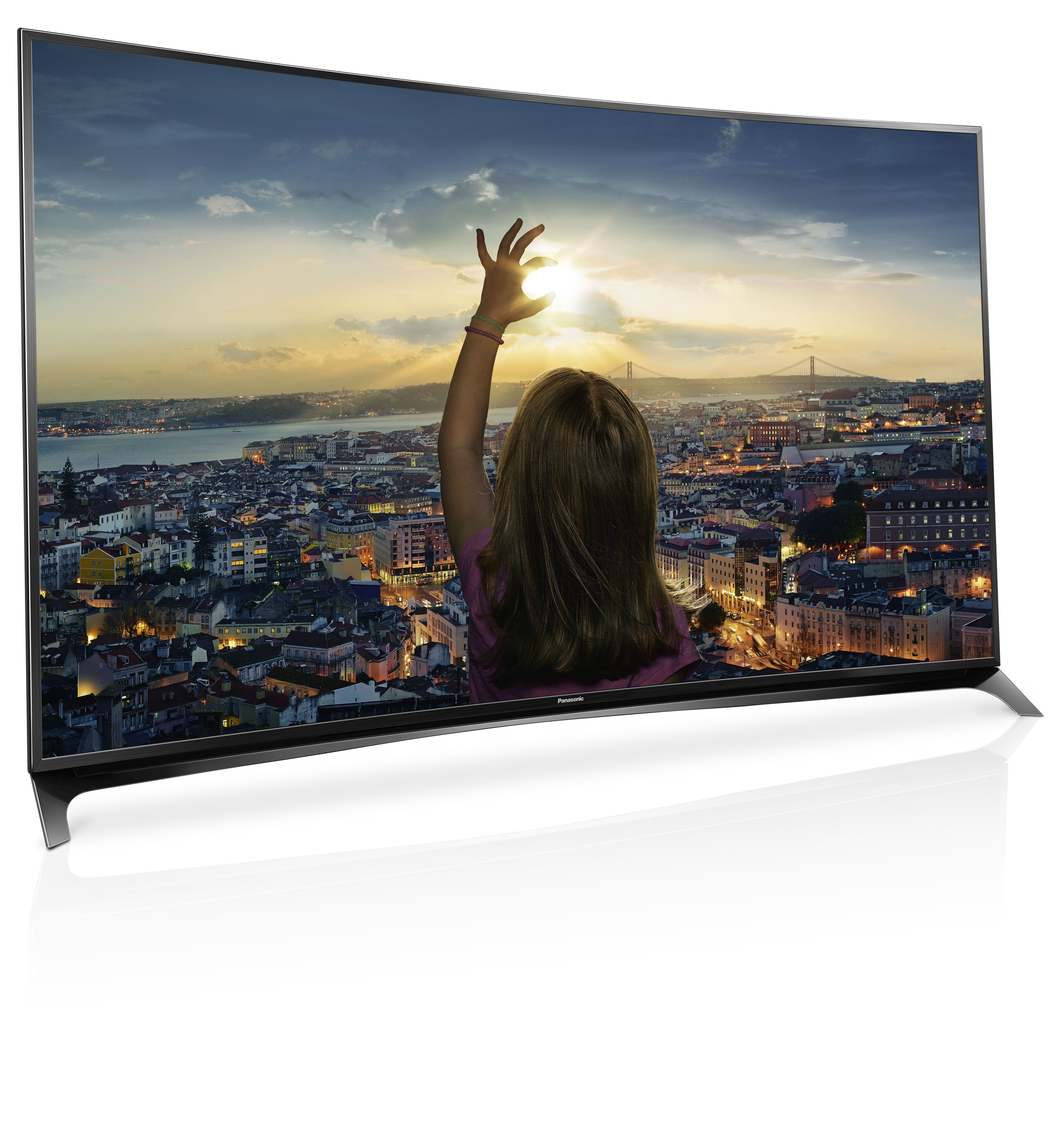 e57fbf276da0 Panasonic enters curved television game with Viera CR850 series