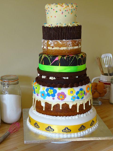 Strange See Mary Berrys Eight Tier Birthday Cake Personalised Birthday Cards Paralily Jamesorg