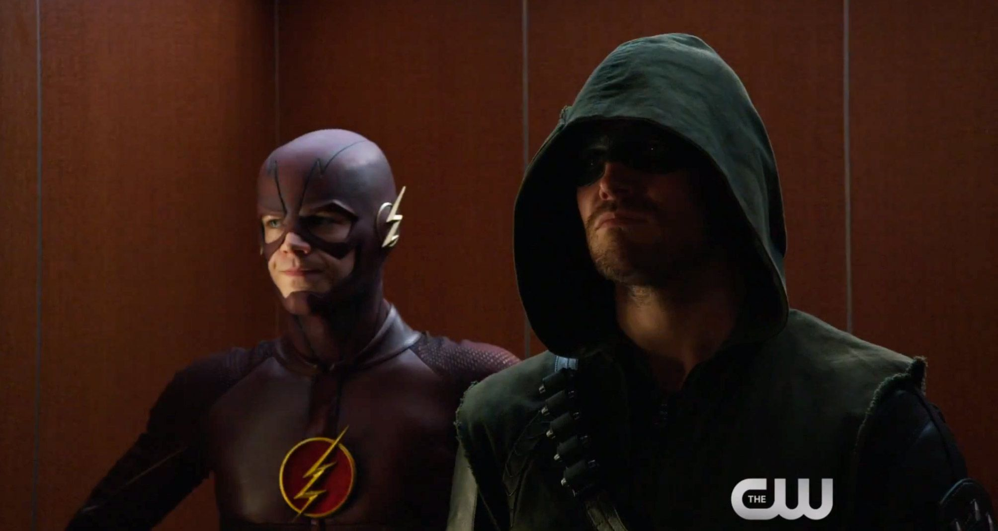 see the flash join superhero fight club