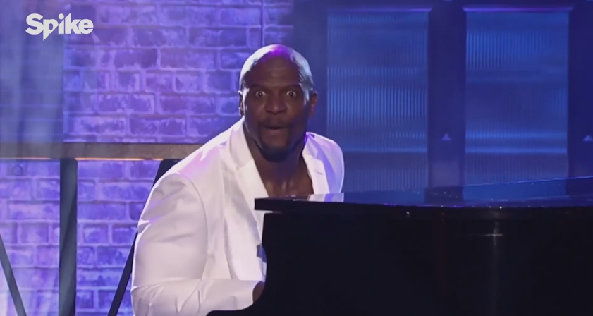 Terry Crews Mimes A Thousand Miles And Its Perfect