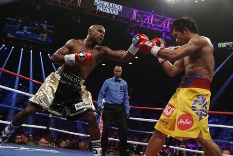 Reporters banned by Mayweather's camp?