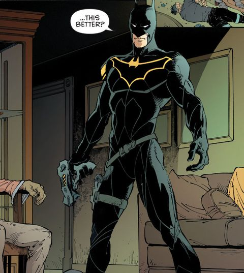 Take a first look at Batman's new costume
