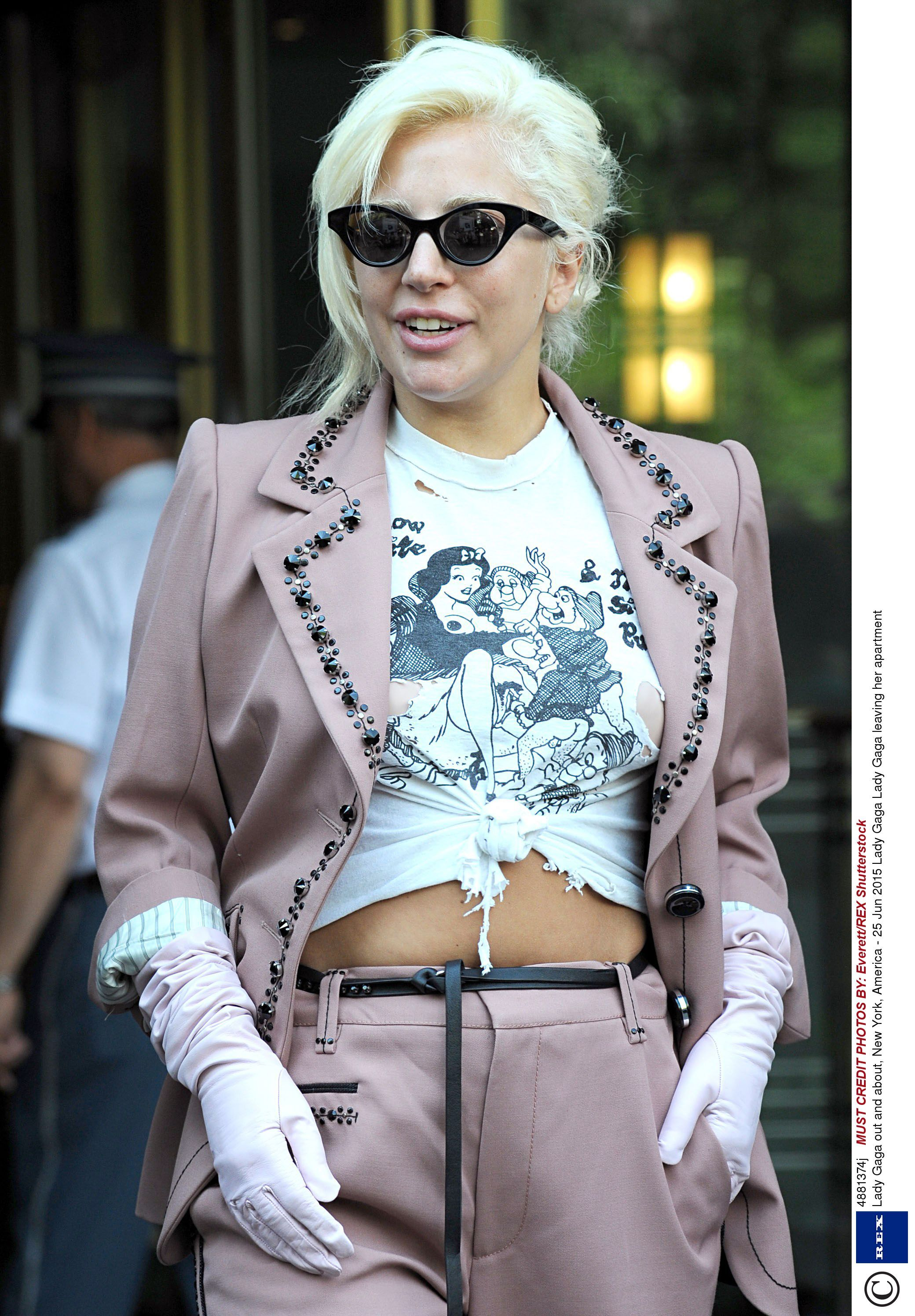 Gaga S Explicit T Shirt Has Ruined Our Childhood