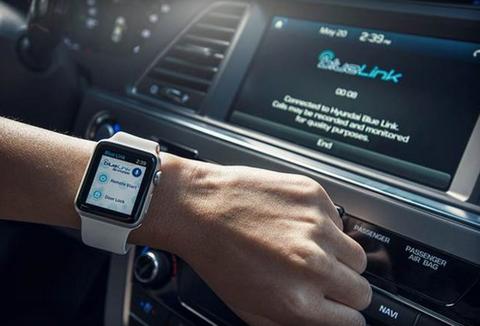 Control your Hyundai car via Apple Watch