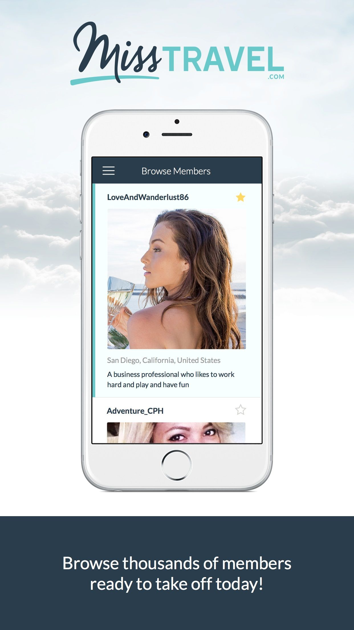 miss travel mobile app