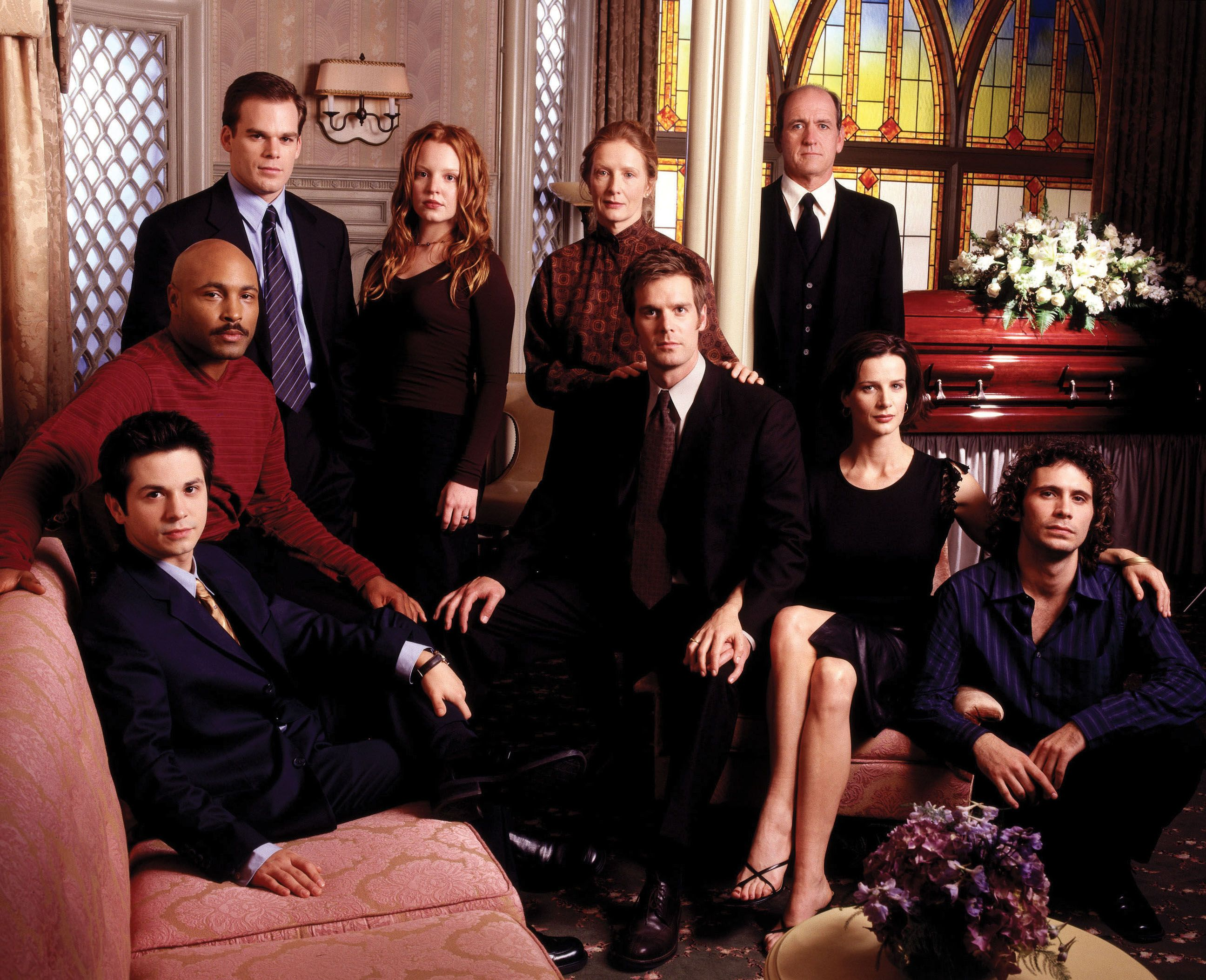 Where Are The Cast Of Six Feet Under Now Catch Up With Michael C Hall Frances Conroy And More