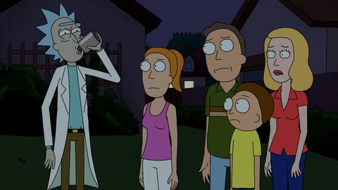 1f0ffa974e54 Deconstructing Rick and Morty  The Easter Eggs