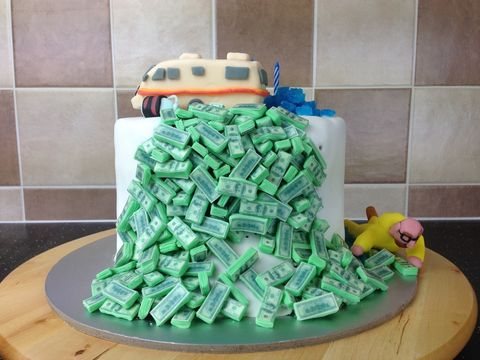 Excellent This Breaking Bad Cake Is A Methterpiece Funny Birthday Cards Online Overcheapnameinfo