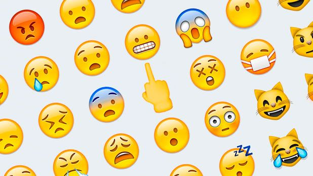 How to add middle finger emoji on android
