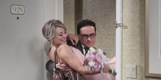 leonard and penny wedding