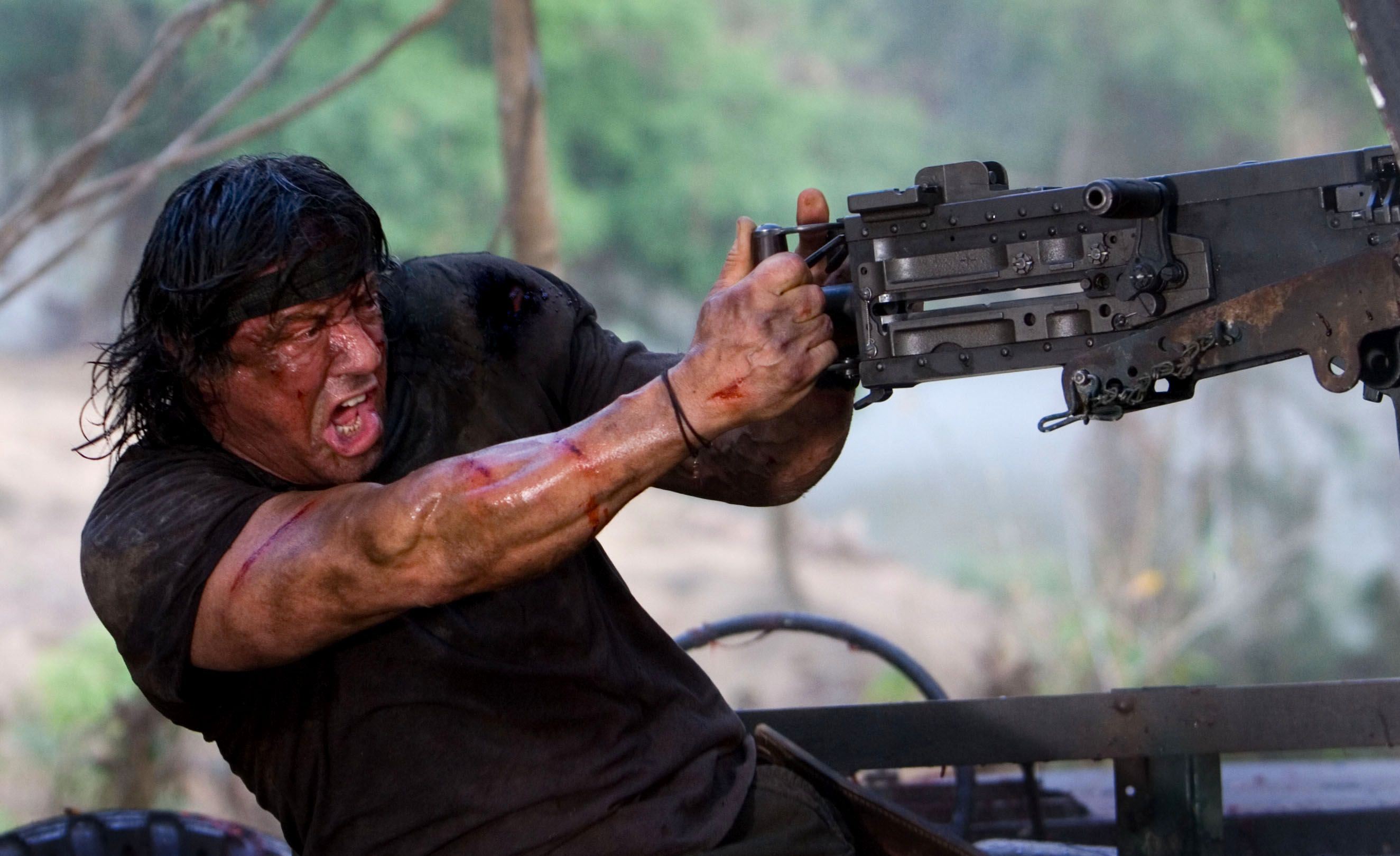 "Sylvester Stallone teases ""hard R rating"" for Rambo sequel"