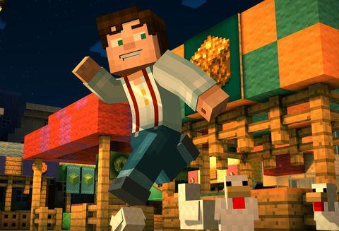 minecraft story mode xbox one split screen