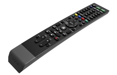 The PS4 finally gets an official media remote