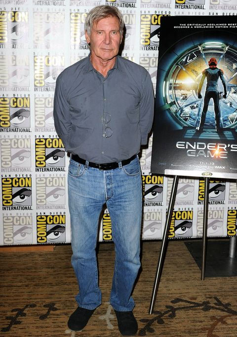 Harrison Ford signs for Age of Adaline