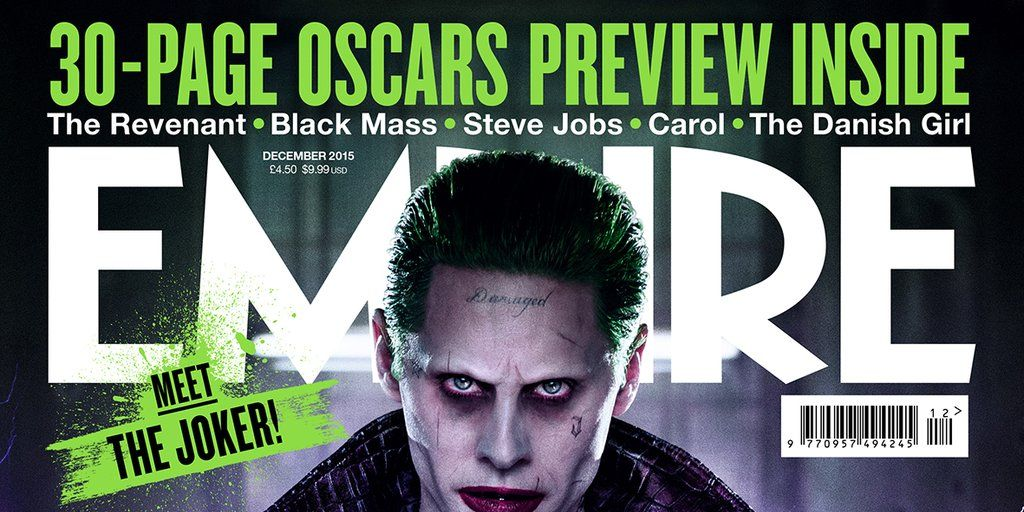 Electrifying New Look At Jared Leto S Joker