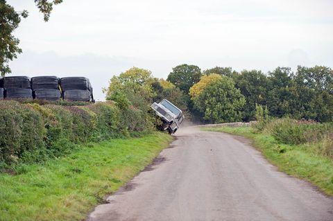 Road, Transport, Rural area, Land lot, Thoroughfare, Grassland, Trail, Truck, Prairie, Subshrub,