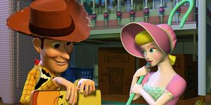 Woody and Bo Peep - Toy Story