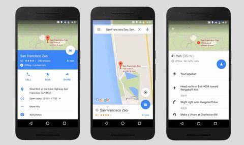 Turn-by-turn Google Maps offline navigation added as Android app