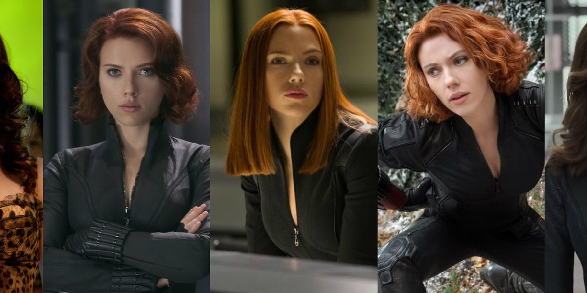 Why Does Scarlett Johansson S Black Widow Hairstyle Change In Every Marvel Movie