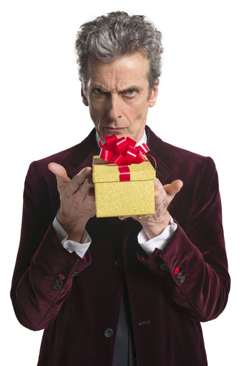 Image result for peter capaldi xmas