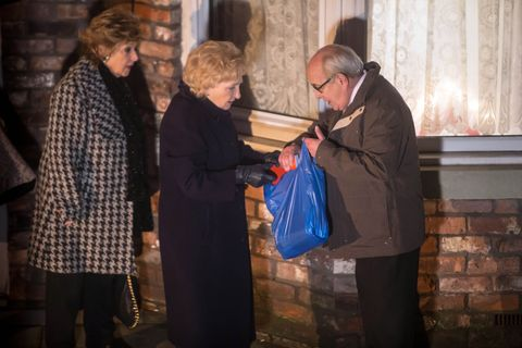Emily Bishop leaves in Coronation Street