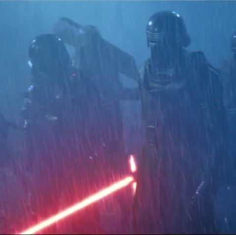 Kylo Ren and the Knights of Ren in Star Wars: The Force Awakens