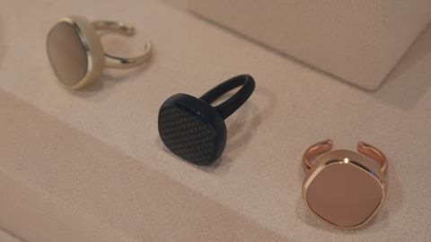 Smart cufflinks and smart rings are now a thing thanks to