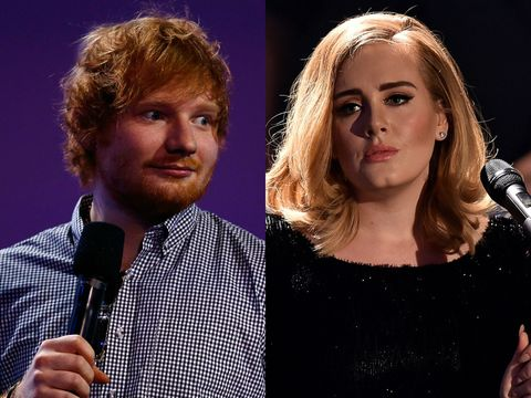 Adele and Ed Sheeran battled it out for Song of the Year