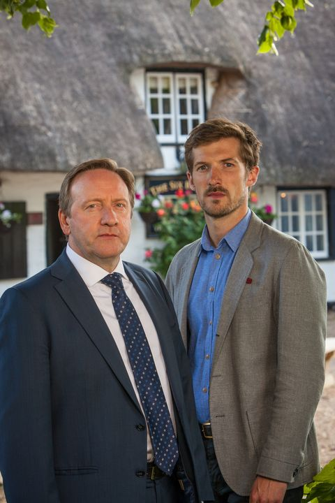 Neil Dudgeon and Gwilym Lee in Midsomer Murders