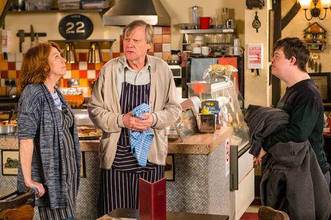 Roy offers Alex a job