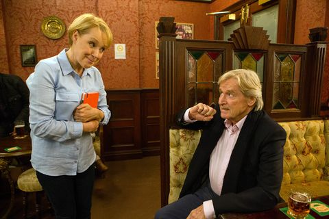 Sally discusses her political stance with Ken