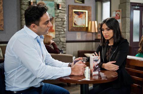 Rakesh tells Priya that he kissed Chrissie