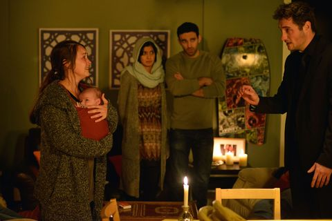 Stacey fears for Arthur's safety and seeks refuge with Kush and Shabnam