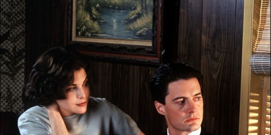 Audrey and Dale Cooper in Twin Peaks