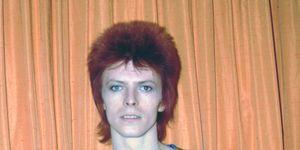 David Bowie in the Ziggy Stardust era, 1973