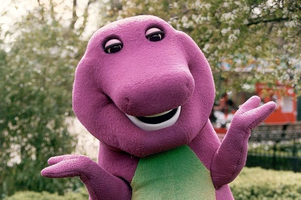 "Barney is getting a live-action movie to bring the purple dinosaur out of ""the shadows"""