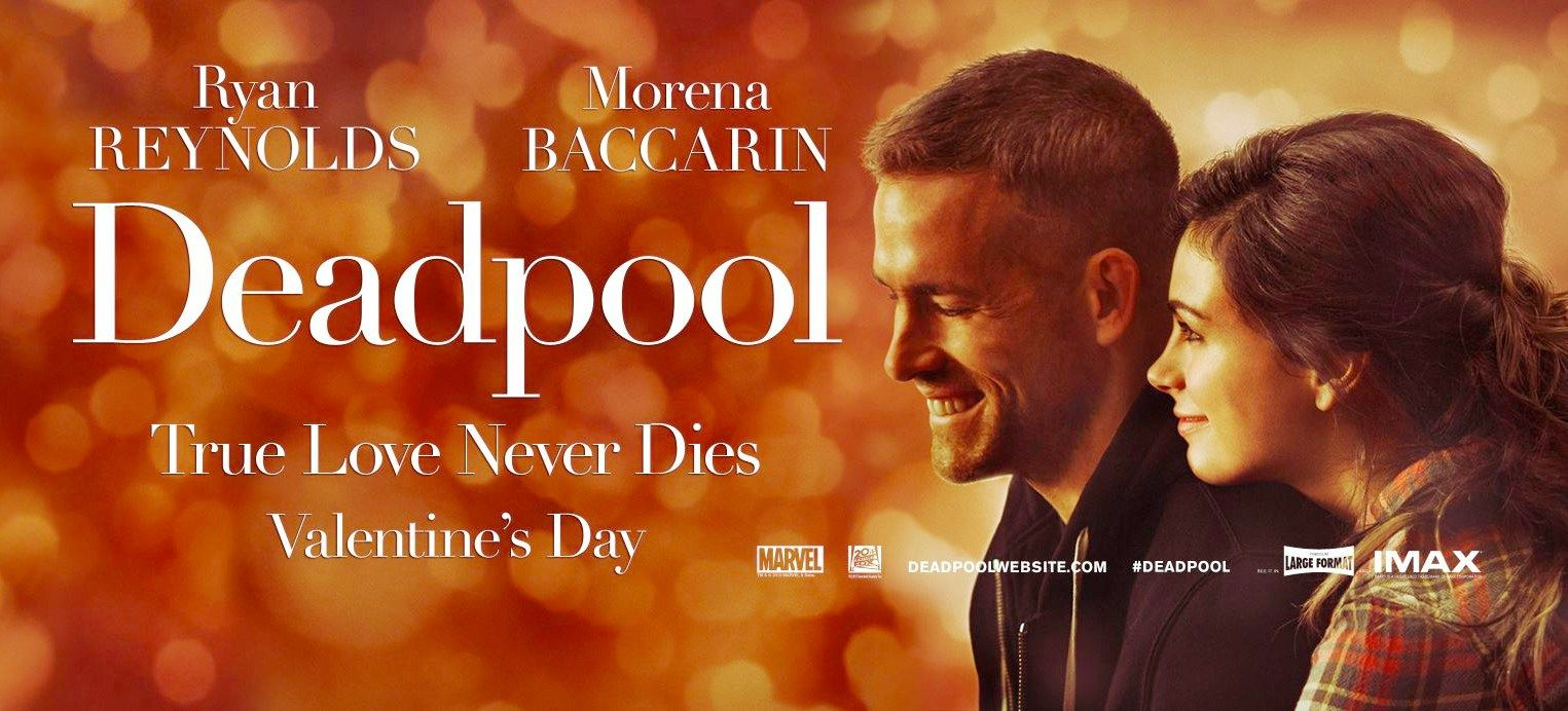 Deadpool Gets A Valentine S Day Friendly Romcom Style Poster And
