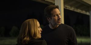 Gillian Anderson and David Duchovny in The X-Files miniseries episode 1: 'My Struggle'