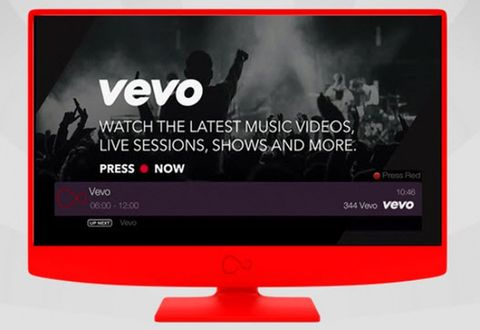 Vevo brings its music video library to Virgin Media TiVo